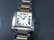 CARTIER Gent's Wristwatch TANK FRANCAISE 2-TONE 2302